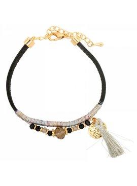 Ibiza bracelet with tassel