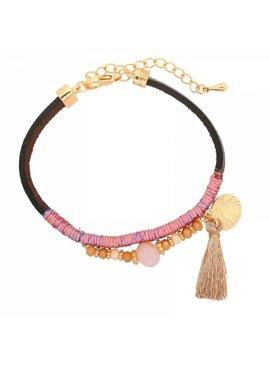 Lovelymusthaves Ibiza boho bracelet with tassel
