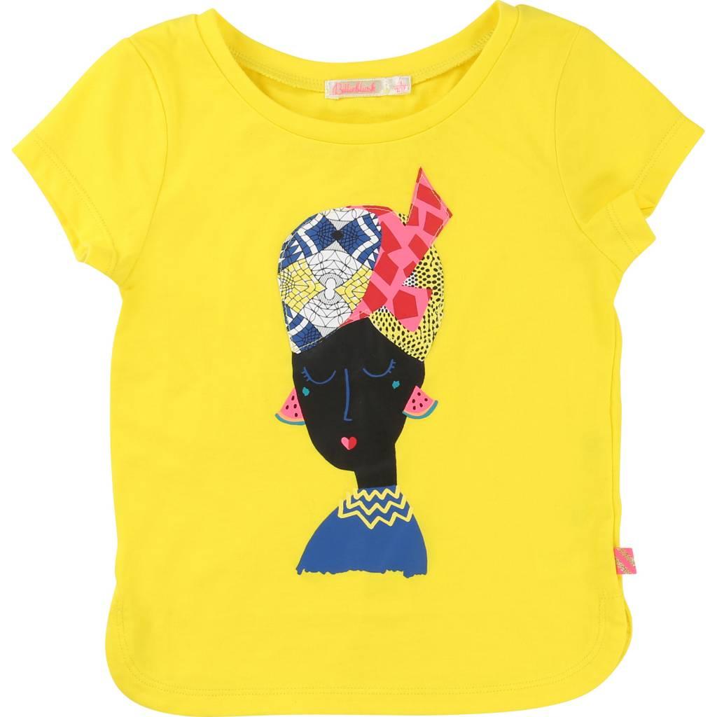 Billieblush tshirt geel u 15385