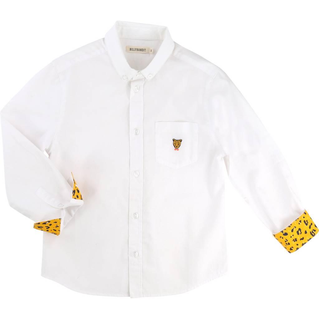 Billybandit Overhemd wit billybandit