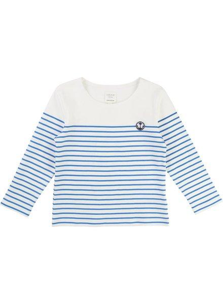 Carrement beau carrement beau longsleeve blue stripe