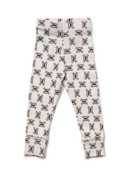NUNUNU all over skull legging white