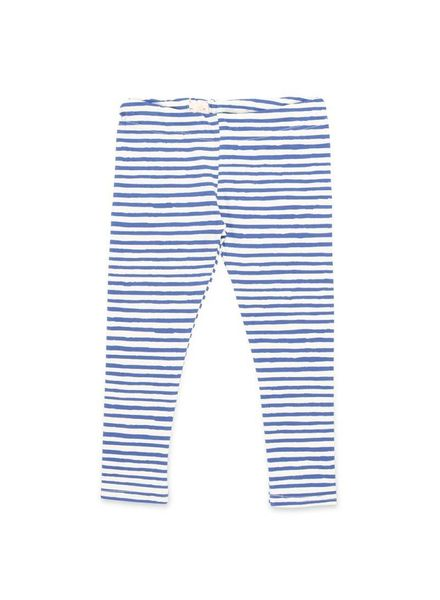 One we like legging owl stripe blue