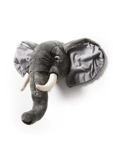 Wildandsoft Knuffelkop olifant