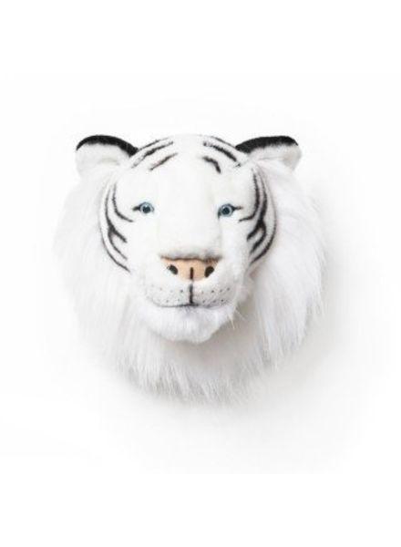Wildandsoft Knuffelkop witte tijger