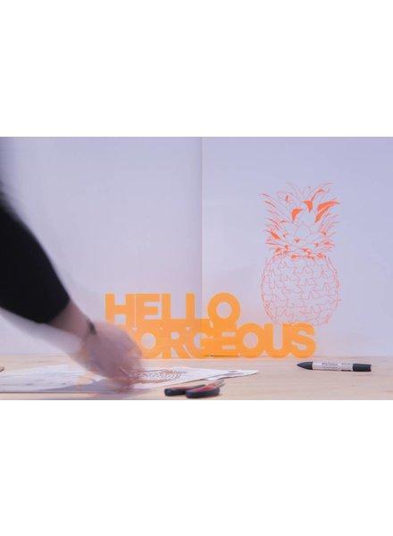 NYNstyles hello gorgeous oranje