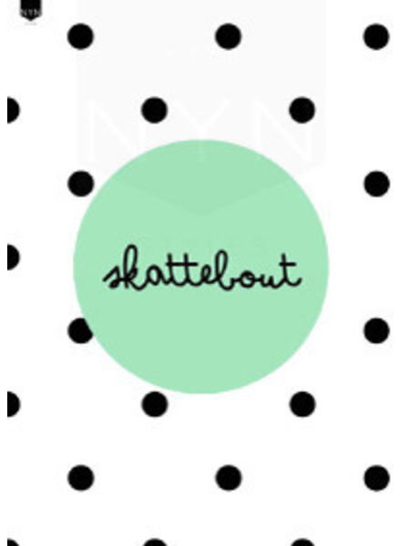 NYNstyles a4 poster skattebout mint