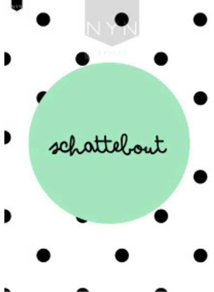 NYNstyles a4 poster schattebout mint