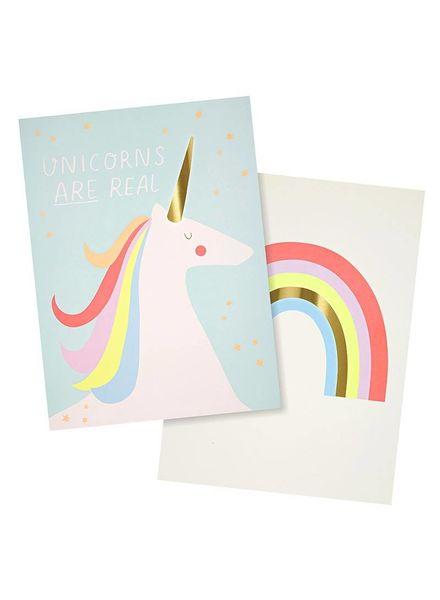 Merimeri poster unicorn