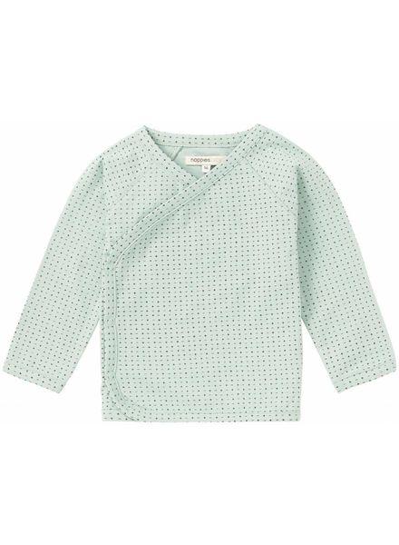 noppies Overslag shirt mint 74411