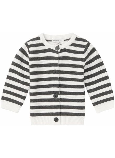noppies Vest charcoal/white 74496
