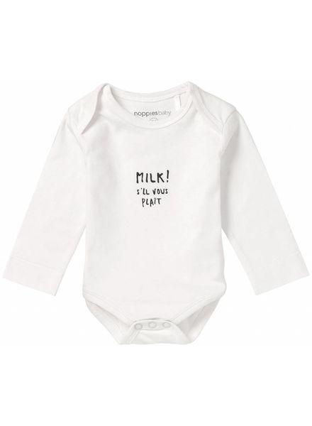 noppies Romper milk 74408