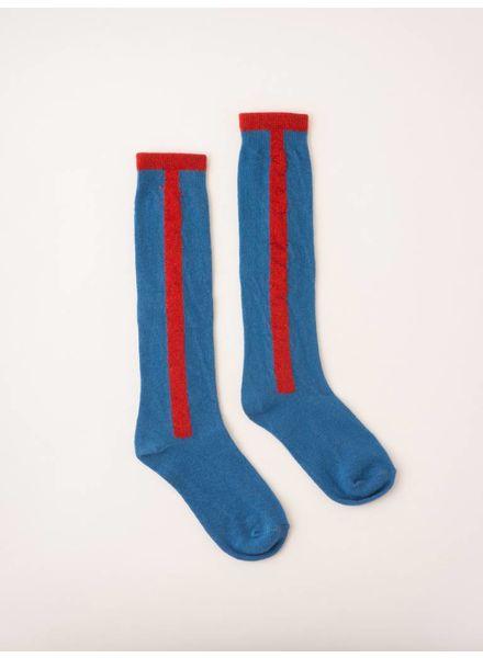 Bobo choses Long stripe socks 217244 blue