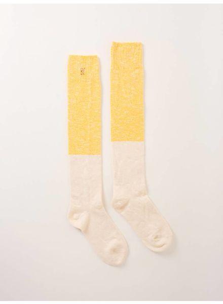 Bobo choses Bicolour sokken 217248 geel