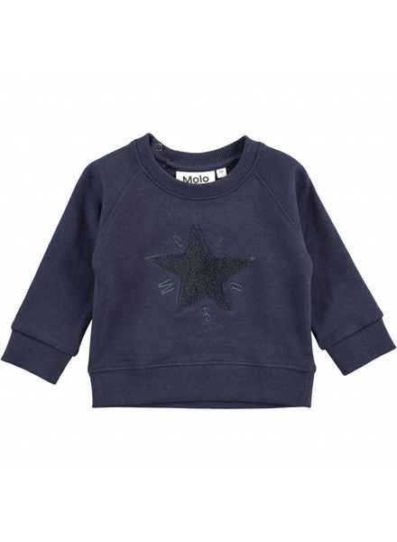 Molo Donkerblauwe sweater dines