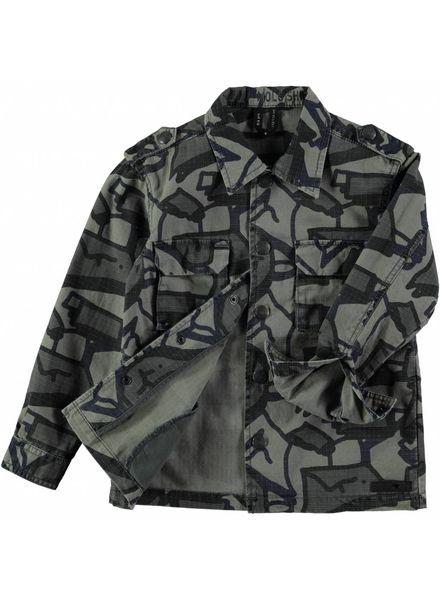 Molo Groene molo print blouse hanve