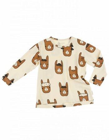 Tiny cottons longsleeve lama heads shirt
