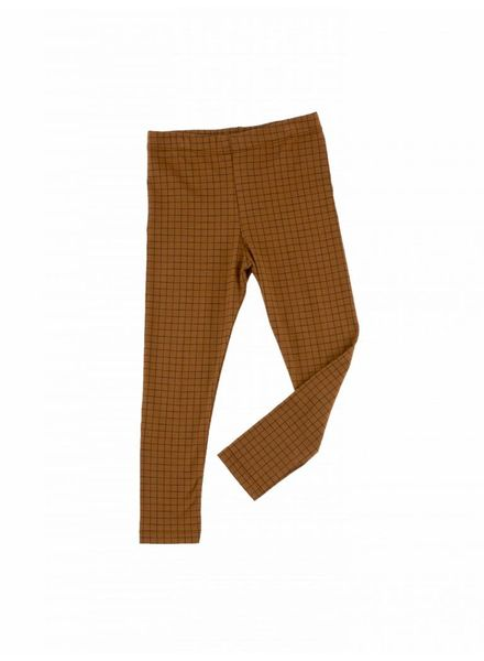 Tiny cottons Legging grid bruin