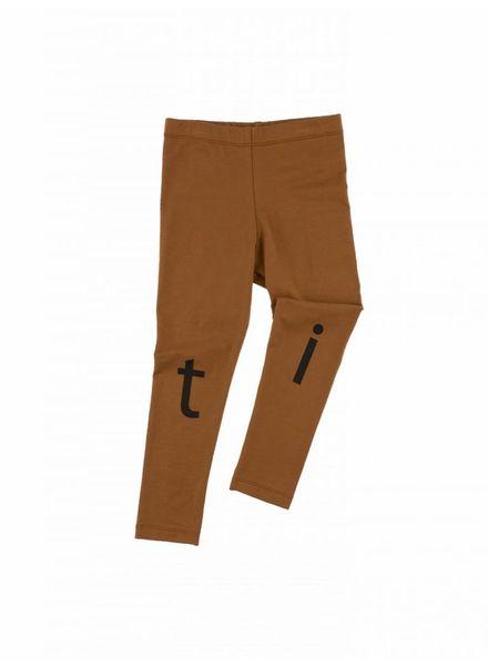 Tiny cottons legging logo pant bruin
