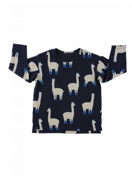 Tiny cottons longsleeve lama blauw