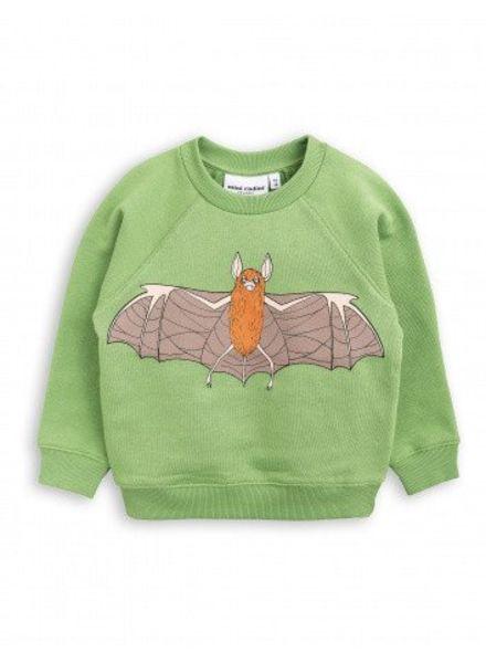 Mini rodini Flying bat sweatshirt green