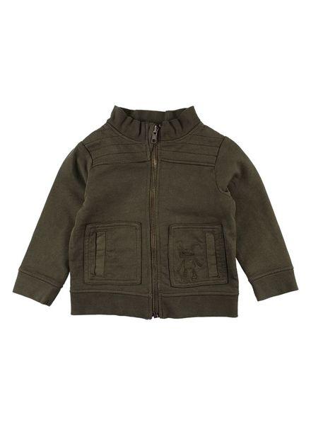 Small Rags Felix cardigan army green