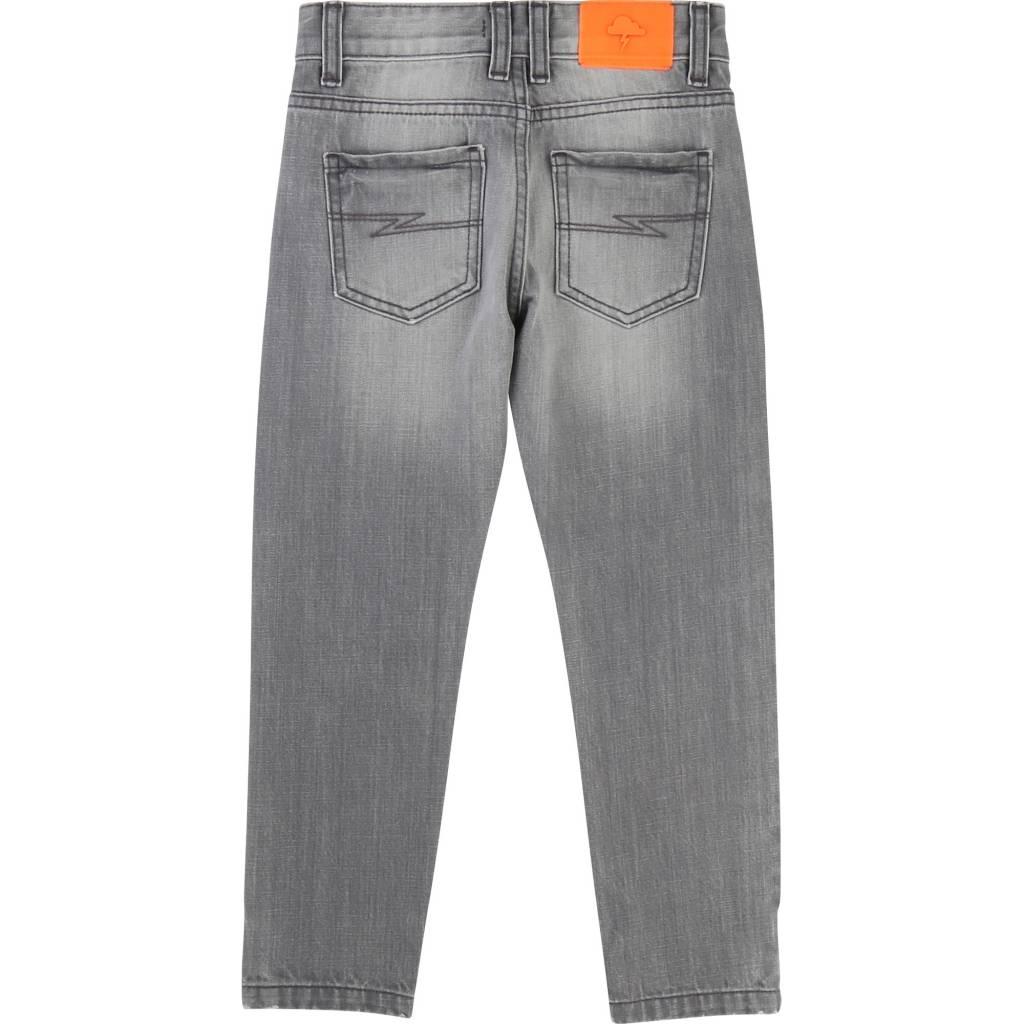 Billybandit Jeans met blauwe kniestukken v24135