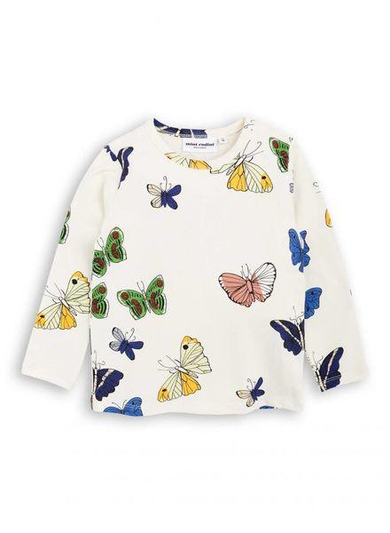 Mini rodini Butterfly ls tee