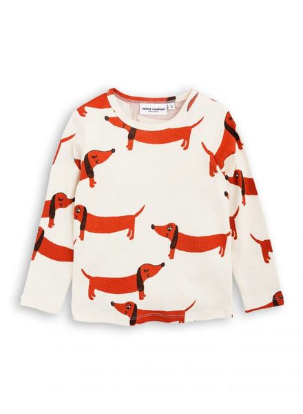 Mini rodini Dog ls tee
