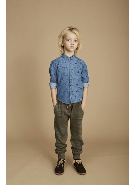 Soft Gallery Jeansblouse severin