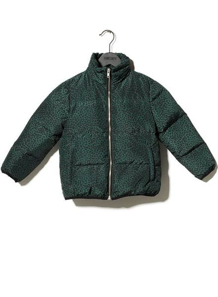 SOMEDAY SOON Thor jacket leopard green