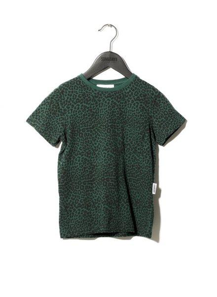 SOMEDAY SOON Bertil thsirt leopard green