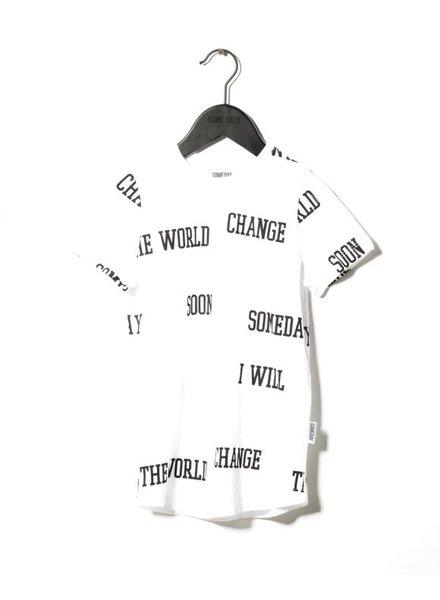SOMEDAY SOON Orbit tshirt white