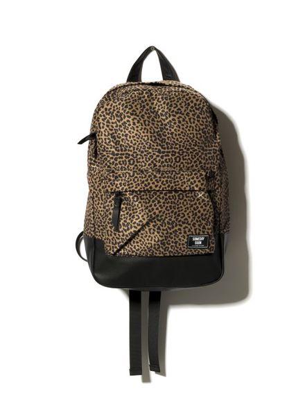 SOMEDAY SOON backpack leopard