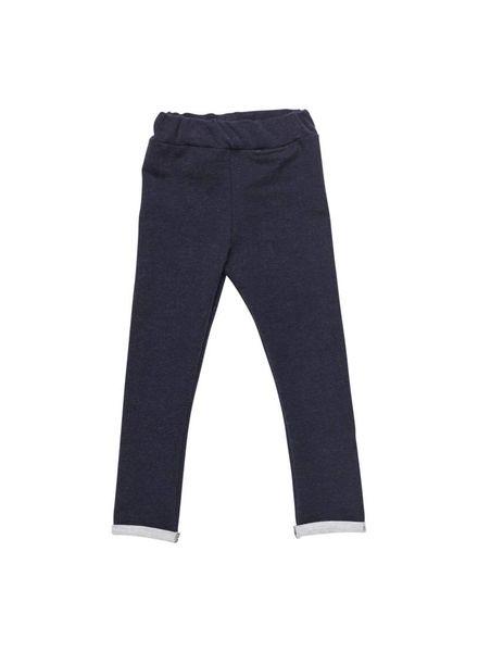 Mioandco Legging stevige stretch katoen donkerblauw