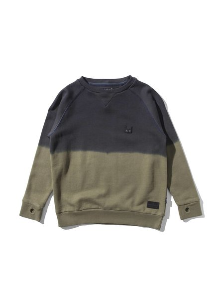 Munsterkids Sweater Double dye olive