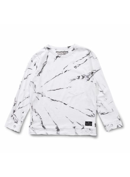 Munsterkids White paint longsleeve