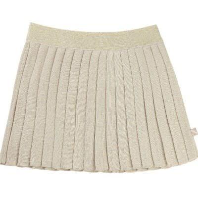 Billie blush Gouden plisserok u13145