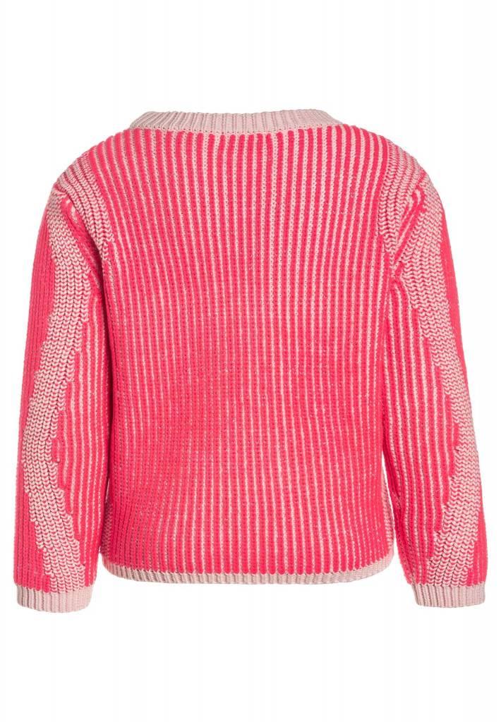 Billieblush Roze gebreiden trui