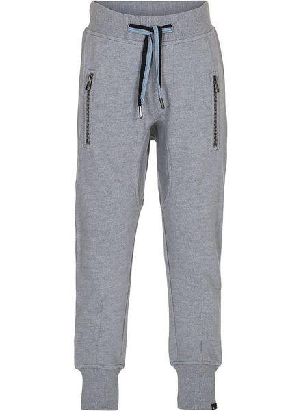 Molo Ashton sweatpants lichtblauw/grijs gemeleerd
