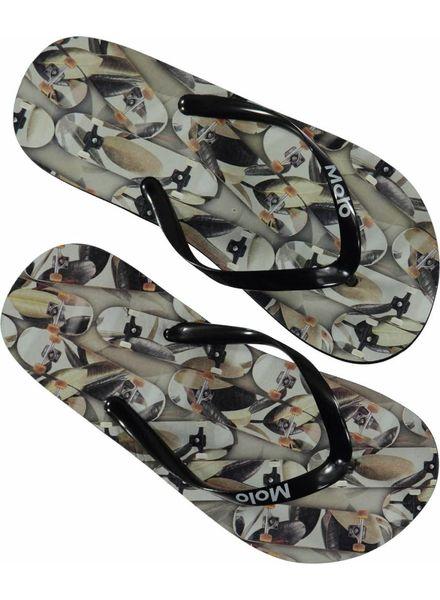 Molo Flip flop zeppo camouflage skateboard