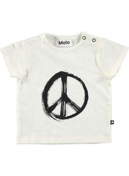 Molo Tshirt eddie white star