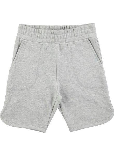 Molo Alberto short grey melange