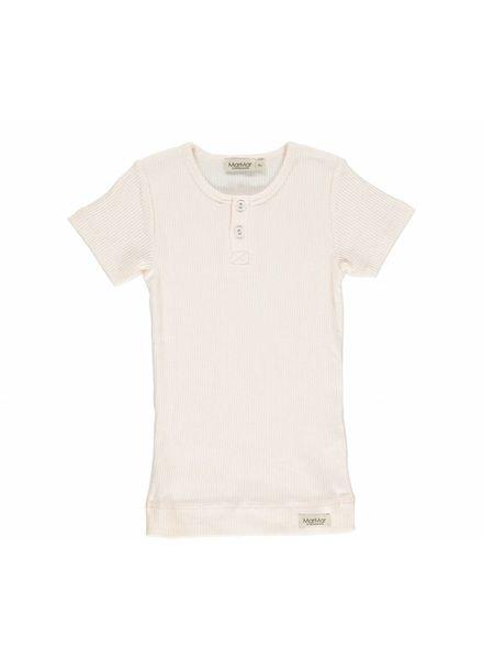 MarMAr CPH Tshirt barely rose met knoopjes