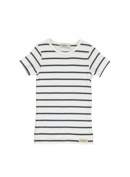 MarMAr CPH T-shirt stripe blue