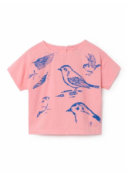 Bobo choses Birds Short Sleeve Shirt