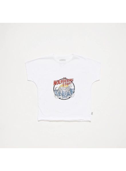 repose T-shirt crips white