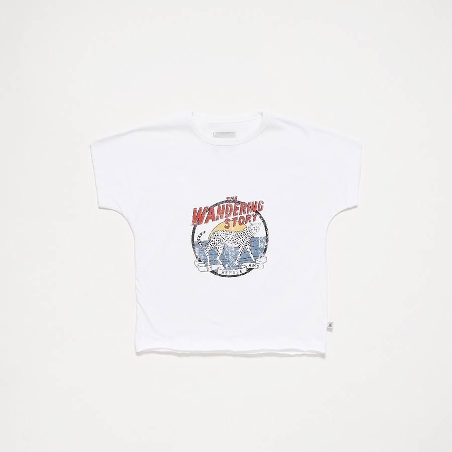 repose T-shirt crips white