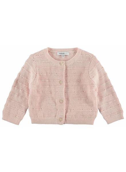 noppies Vest knit lichtroze