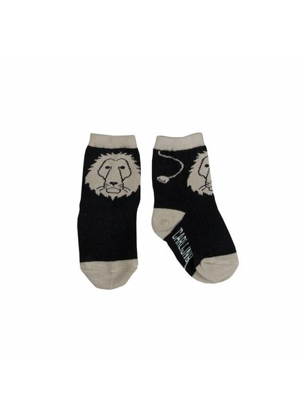 CarlijnQ A lions head socks
